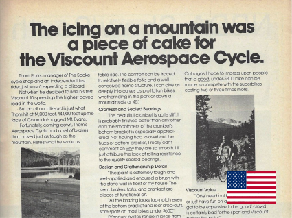 18 11 5 Viscount aerospace cycle